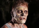 Zombie Makeup: 'As Night Falls'